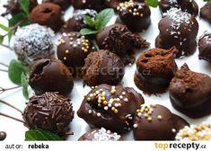 Domácí čokoládové lanýže od evel recept - TopRecepty.cz Whisky, Christmas Cookies, Muffin, Food And Drink, Pudding, Chocolate, Cheesecake, Cooking, Breakfast