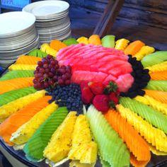 Amazing fruit platter