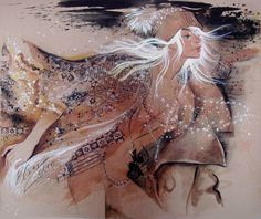 Ukrainian-born painter Elen Zelin /Элен Зелин was born in Odessa, one of the main cultural centers of the coasts of the Black Sea and the former Soviet Union. Ed Fairburn, Fusion Art, Cultural Center, Black Sea, Modern Art, Game Of Thrones Characters, Sketches, Abstract, Drawings