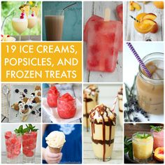 19 Ice Creams Popsicles and Frozen Treats!! -- Tatertots and Jello