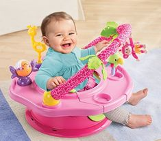 Amazon: Summer Infant 3-Stage SuperSeat Deluxe Giggles Island Positioner, Booster and Activity Seat for Girl $29.99 {reg. $50}