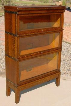 My Dad Gave Me A Bookcase Just Like This, But Mine Has The Original Base