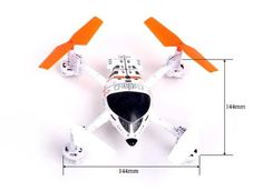 Walkera QR Series White W100S WiFi Version R/C Hobby Quadcopter QC300 with RCECHO Full Version Apps Edition