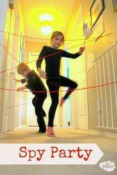 Spy Birthday Party & The Secret to a Great-Looking Kids' Party from Best Birthdays