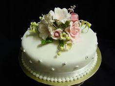 mini Buttercream Wedding Cakeswith fresh flowers   Cake Part 3 - Wedding Cakes, Birthday Cakes, Cup Cakes, Wedding ...