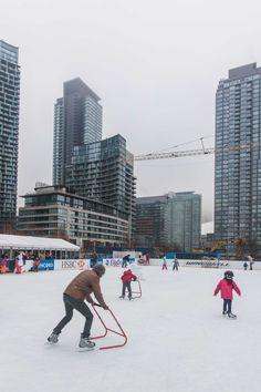 Toronto Views's albums Visit Toronto, Toronto Ontario Canada, Downtown Toronto, Winter Wonderland Wallpaper, Toronto Winter, Outdoor Skating, Winter Snow, Flakes, Cn Tower