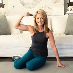 We'll focus on some strength training exercises that will really target the jiggly parts of the arms - you know, that bingo wing? Add these two moves to your workouts and you will see and feel a difference in your triceps - the back of your arms! Fitness Workout For Women, Fitness Diet, Health Fitness, Arm Workouts At Home, Denise Austin, Heath And Fitness, Benefits Of Exercise, Strength Training Workouts, Belly Fat Workout