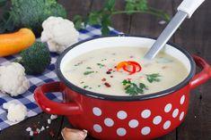 Karfiolkrémleves Recept képpel - Mindmegette.hu - Receptek Tzatziki, Cheeseburger Chowder, Soup Recipes, Food And Drink, Lunch, Ethnic Recipes, Facebook, Eat Lunch, Lunches