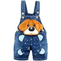 Baby Boys Girls Jeans Overalls Shorts Toddler Kids Denim Rompers Cute Cartoon Bebe Jumpsuit For Summer Bib Pants Clothes - Kid Shop Global - Kids & Baby Shop Online - baby & kids clothing, toys for baby & kid Cute Baby Boy, Baby Kids, Toddler Girls, Toddler Rompers, Baby Baby, Salopette Short, Salopette Jeans, Baby Outfits, Kids Outfits