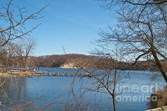 Irondequoit Bay on Lake Ontario near Rochester, NY by William Norton