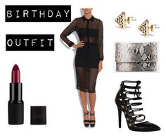 Birthday Outfit by littlegolddiary on Polyvore featuring ASOS