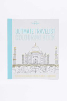 £10 Ultimate Travelist Colouring Book - Urban Outfitters