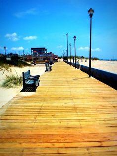 Boardwalk-Atlantic Beach, NC. I've walked on this boardwalk :)