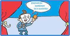 DIA DO PROFESSOR 2  http://almirquites.blogspot.com/2016/10/dia-do-professor-2.html Aprender na Escola deveria ser muito mais eficaz do que se conseguiria aprender brincando.