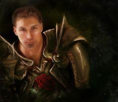 Alistair's Rose Dragon Age by ElegantArtist21.deviantart.com on @deviantART