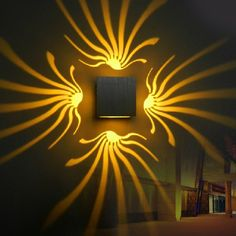 Buy Tanbaby Modern led wall Light Aluminum wall sconce decoration lamp for Aisle Bedroom Corridor Porch KTV BAR Led Wall Lamp, Led Wall Lights, Led Ceiling, Wall Sconce Lighting, Wall Sconces, Hallway Lamp, House Lighting, Room Lamp, Decoration Hall