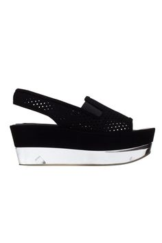 Tess S. Gomma Sandals by Stella McCartney.  IN WHITE !!