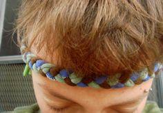 T-shirt headbands! So easy, so cute, so versatile. #craft #kidscraft