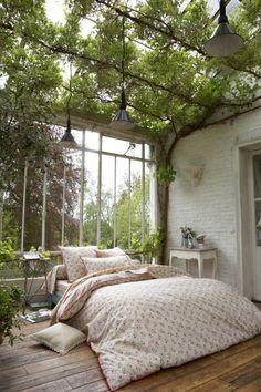 Modern And Minimalist Bedroom Design Ideas In 2020 Dream Home Design, My Dream Home, House Design, Design Homes, Dream Rooms, Dream Bedroom, Nature Bedroom, Garden Bedroom, Pretty Bedroom