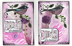 collage ATC set -Birds of a Feather | Flickr - Photo Sharing!