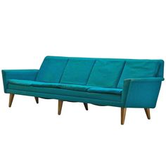 1960s Scandinavian Modernist DUX Jetson's Sofa by Folke Ohlsson   From a unique collection of antique and modern sofas at http://www.1stdibs.com/furniture/seating/sofas/1960s-scandinavian-modernist-dux-jetsons-sofa-folke-ohlsson/id-f_921463/
