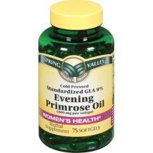 Evening Primrose Oil: Anti-aging supplement that you should start taking by age 30. Will see major improvement in skin tightening and preventing wrinkles. Helps with hormonal acne, PMS, weight control, chronic headaches, menopause, endometriosis, joint pain, diabetes, eczema, MS, infertility, hair, nails, and scalp.
