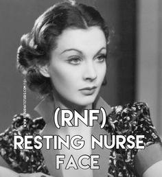 Do you suffer from Resting Nurse Face? ☝️Tag someone who also suffers from RNF! #nursehumor #nurses #welovenurses #nursing #restingnurse #haha #truth #toofunny #rns #nursesonly #NursesWeek #nursey #nurselife #nursegrind #nurse #nursesofig #nurselove #nursememe #nurseynurse #murse #rnstatus #rnsofinstagram #rnstrong #rns