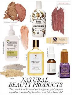 The Scoop: Natural Beauty Products - Celebrity Style and Fashion from WhoWhatWear