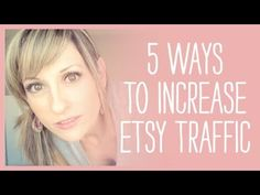 Need more traffic to your Etsy shop? Here are 5 quick ways to do it.