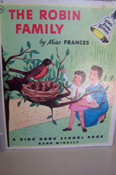 The Robin Family by Miss Frances, Ding Dong School Book, 1950s