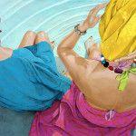 """""""Forgotten Dreams"""", 2010, acrylic on canvas, 100 x 160 cm (39 x 63 inch)"""