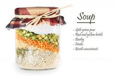 La ricetta della zuppa in barattolo | foto non sprecare