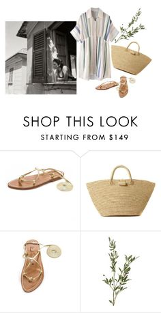 """""""linen"""" by flaneurforever ❤ liked on Polyvore featuring K. Jacques and Mar y Sol"""