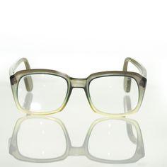 9efd046035e VAM Men s Eyeglass Frames 795C 18  +2.25 Gradient Square Horn Rimmed 1 –  itisvintage