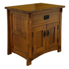 Amish craftsmen Mission Nightstand from Night Stands category is hand made by finest amish craftsmen specialized in mission and solid wood furniture Craftsman Style Decor, Craftsman Style Furniture, Mission Style Furniture, Arts And Crafts Furniture, Furniture Projects, Building Furniture, Furniture Making, Solid Wood Furniture, Rustic Furniture