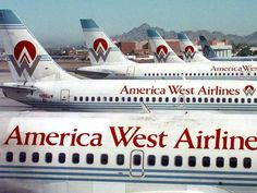 Devoted former employees of hometown airline America West will gather this Saturday near Chandler for an all-day reunion. America West Airlines, Jet Airlines, Job Interview Preparation, Us Airways, Helicopter Plane, Airline Logo, Airplane Photography, Best Flights, Aviation Industry