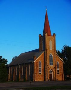 St. Boniface Catholic Church (1891) -- Scipio, KS -- many of my ancestors buried here