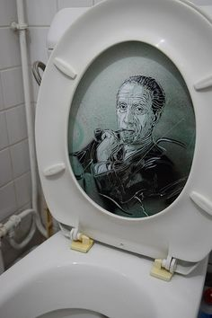 C215 - Portrait of Marcel Duchamp....
