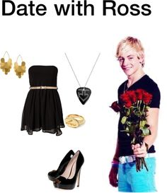 """Date with Ross"" by music1019 ❤ liked on Polyvore"
