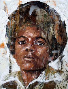 "Rusel Parish, Michael Jackson, exhibition ""The Cult of Michael Jackson, 2009"