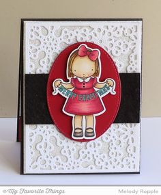 Christmas Banner stamp set and Die-namics, Snowflake Fusion Cover-Up Die-namics, Stitched Oval STAX Die-namics - Melody Rupple #mftstamps
