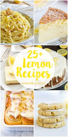 25+ Lemon Recipes -