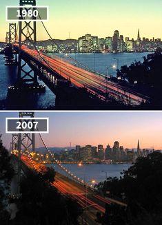 San Francisco–Oakland Bay Bridge, California, 1980 - 2007