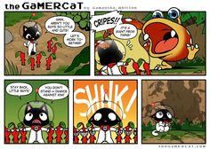 The GamerCat | Feeding Time
