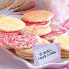 Vinegar Sugar Cookies Recipe