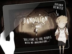 DANDELION is a stunning app looking at bullying at school. The main character is Benjamin Brewster and he's bullied by bigger kids with no imagination. With a few follow-up activities, this would make for a really great lesson on bullying and resilience, perfect for the middle grades. $4.49.
