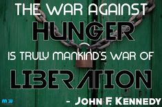 We will wage this war // #hunger #charity #mealsonwheels