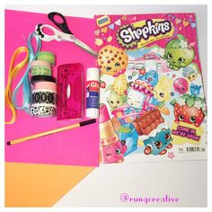 Making something for all of you that love reading. #crafts #Shopkins #art