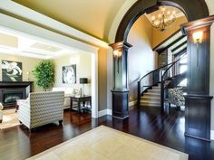 love this entry 1st Avenue, Transitional Style, Stairs, High Point, House, Furniture, Space, Projects, Home Decor