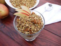 Eighty Twenty: 80--- Applesauce Granola with Quinoa